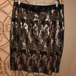NWT camouflage lane Bryant pencil skirt